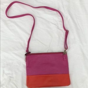 Great summer crossbody convertible clutch bag